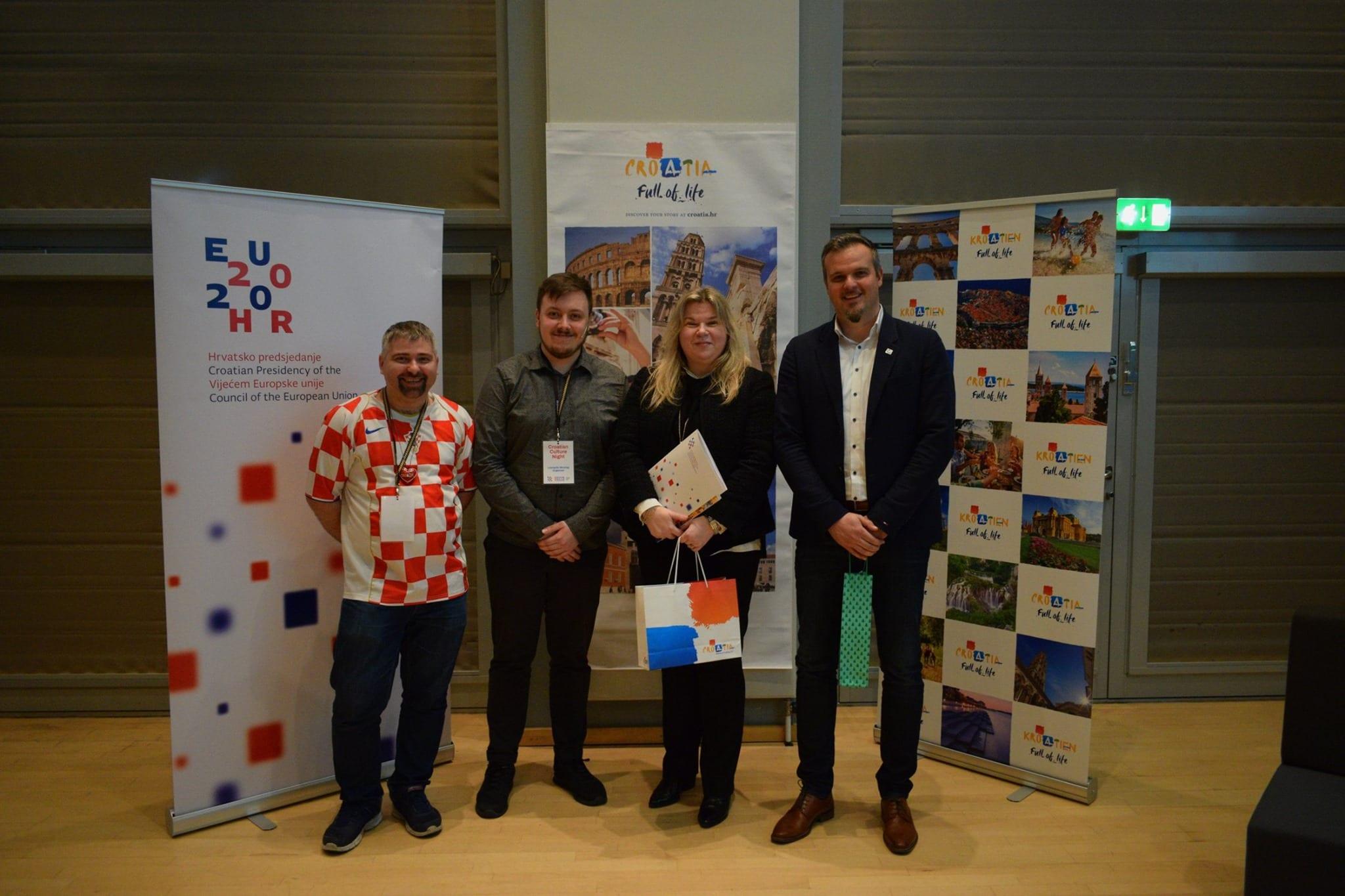 Hrvatska kulturna večer u Aalborgu