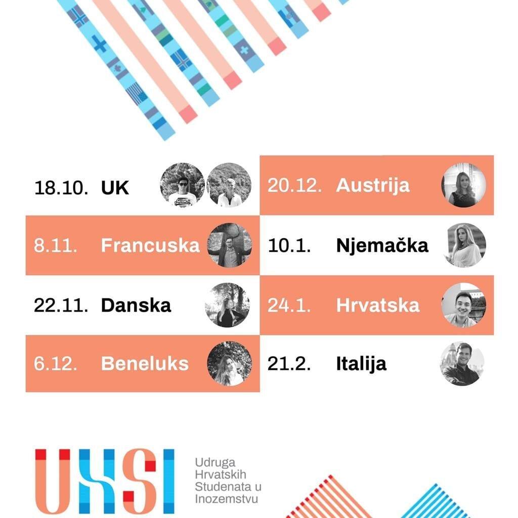 Webinari UHSI-ja o studiju u inozemstvu