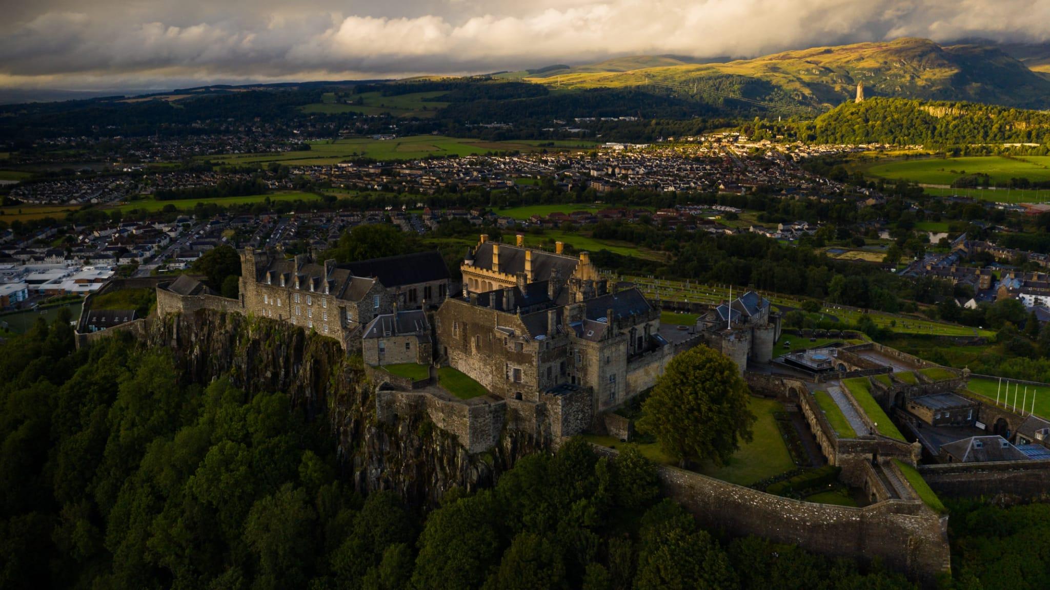 Stirling: Bajkovita jezgra u srcu Škotske